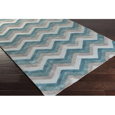 Erik Hand-Tufted Multi-color Area Rug Rug Size: 8' x 11'