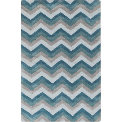 Erik Hand-Tufted Multi-color Area Rug Rug Size: 8 x 11
