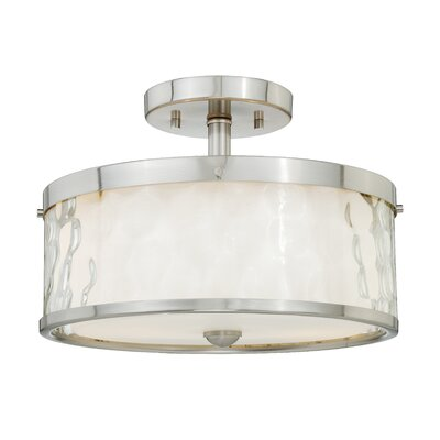 Dunellon 2-Light Semi Flush Mount