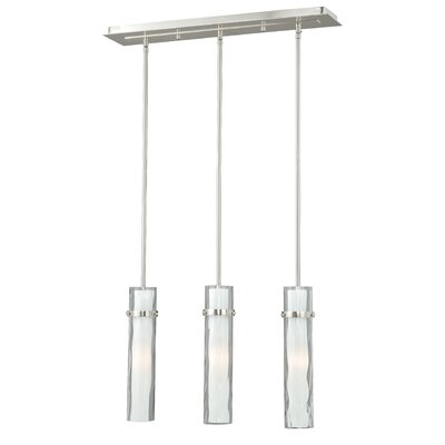 Dunellon 3-Light Kitchen Island Pendant