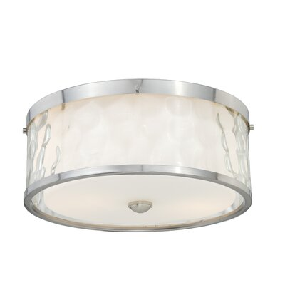 Dunellon 2-Light Flush Mount