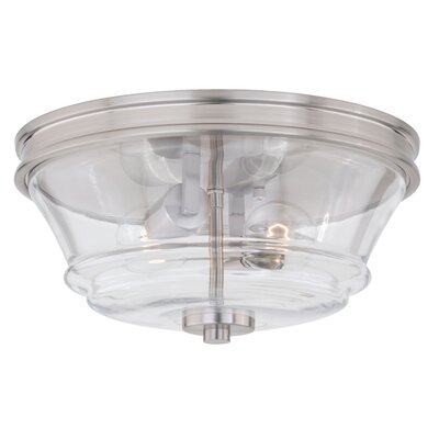 Tomas 2-Light Flush Mount