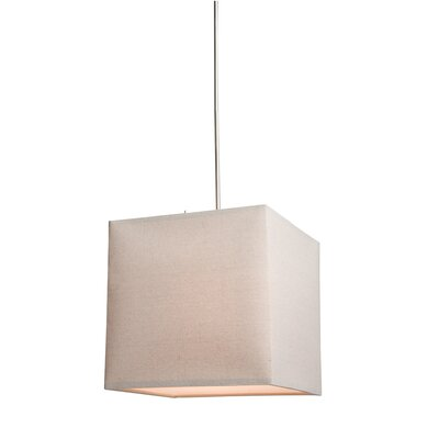 Stabile 2 Light Drum Pendant Shade Color: Oatmeal