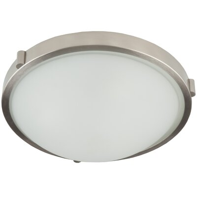 Passabe Flush Mount Finish: Brushed Nickel