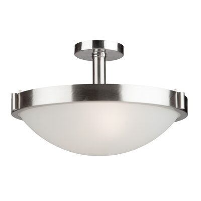 Passabe Semi Flush Mount Finish: Oil Rubbed Bronze