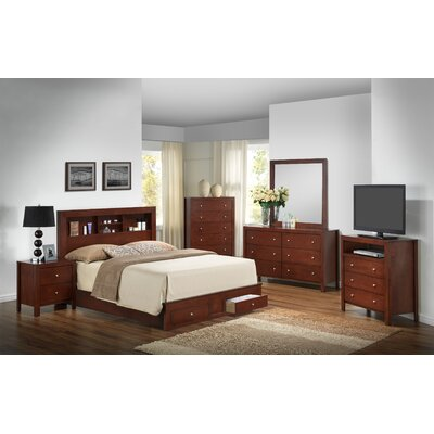 Brennen Storage Panel Customizable Bedroom Set