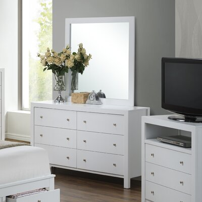 Brennen 6 Drawer Double Dresser