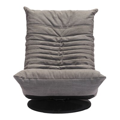 Hilltop Lounge Chair Upholstery: Gray