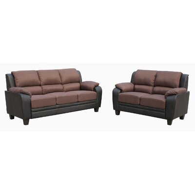 Tierny 2 Piece Living Room Set
