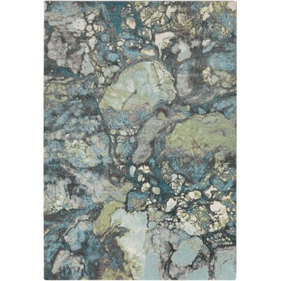 Chastain Grey Area Rug Rug Size: Rectangle 76 x 106