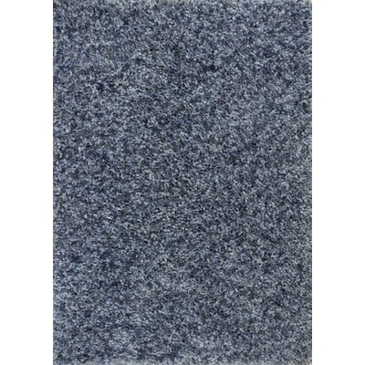 Fomalhaut Denim Heather Area Rug Rug Size: Round 6