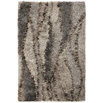 Tabiauea Silver Grain Area Rug Rug Size: 76 x 96