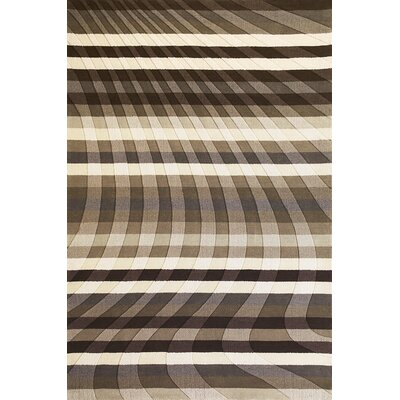 Elizabella Charcoal Spray Rug Rug Size: Rectangle 8 x 10