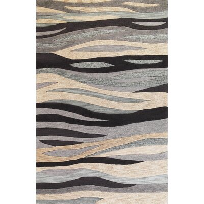 Pangkal Pinang Grey Breeze Rug Rug Size: Rectangle 5 x 76