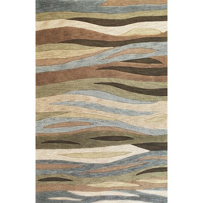 Pangkal Pinang Green Breeze Area Rug Rug Size: 33 x 53