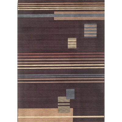 Sukabumi Mocha Contemporary Rug Rug Size: Rectangle 53 x 7 7
