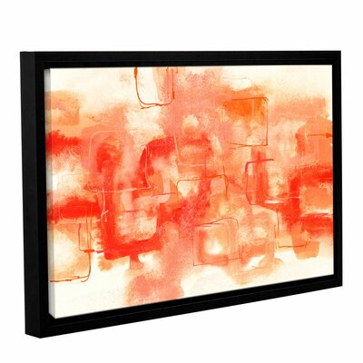 Framed Painting Print on Wrapped Canvas