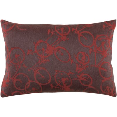 Camptown Lumbar Pillow Color: Brown/Red