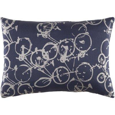 Camptown Lumbar Pillow Color: Blue/Gray