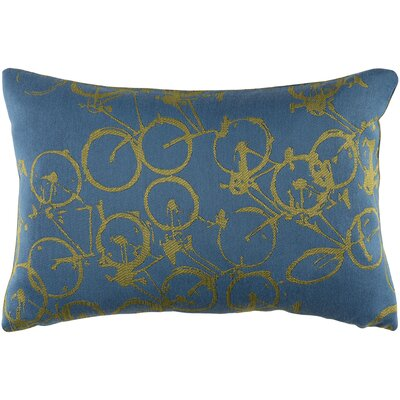 Camptown Lumbar Pillow Color: Blue/Green
