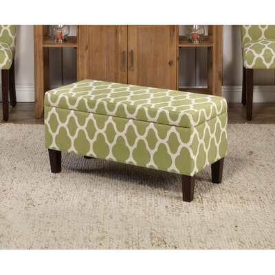 Chastity Upholstered Clare Tokatli Storage Ottoman by Latitude Run