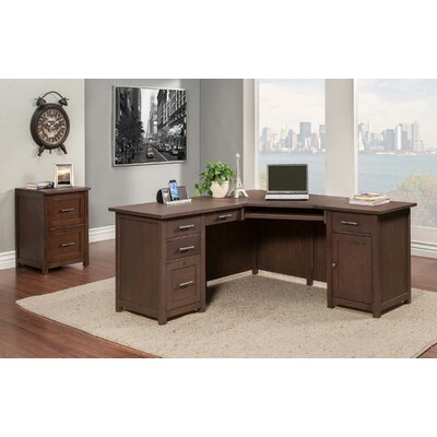 L Shaped Desk Office Suite Powell Product Picture 849