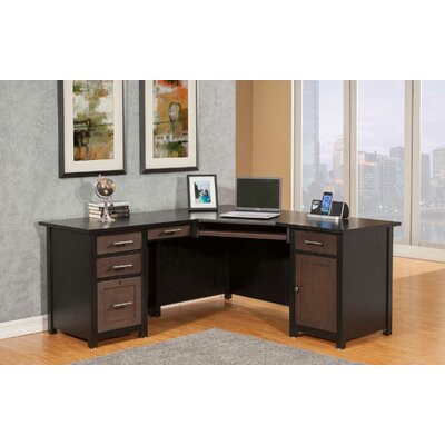 Wedge L Shape Executive Desk Product Picture 890