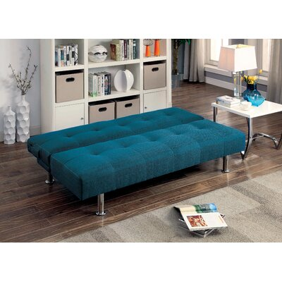 Mcpherson Convertible Sofa Upholstery: Dark Teal