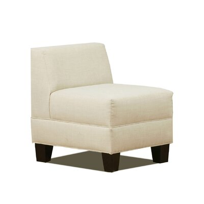 Eric Slipper Chair Upholstery: Natural