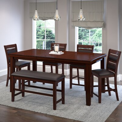 Drago 6 Piece Counter Height Dining Set
