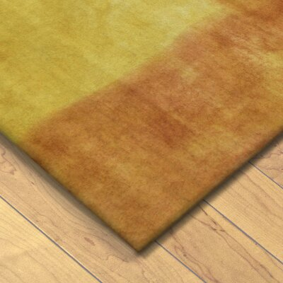 Piazza Hand-Tufted Sunrise/Orange Area Rug Rug Size: 36 x 56