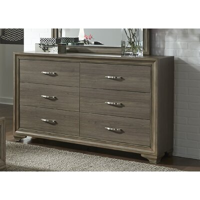 Hurst 6 Drawer Double Dresser