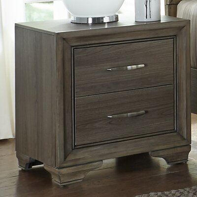 Savanah 2 Drawer Nightstand
