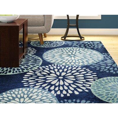 Myia Blue Indoor Area Rug Rug Size: 5 x 8