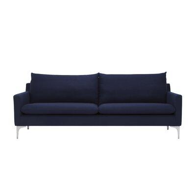 Sherman Sofa Upholstery: Navy Blue