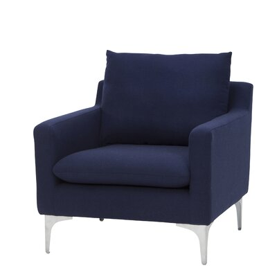 Buehler Armchair Upholstery: Navy Blue