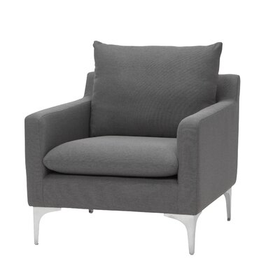 Sherman Arm Chair Upholstery: State Gray