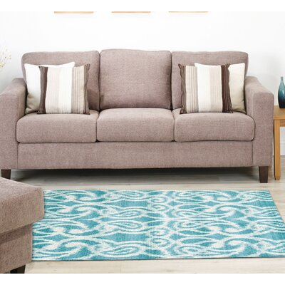 Barrett Teal Area Rug