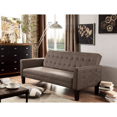 Arianna Sofa Bed Sleeper Upholstery: Mocha