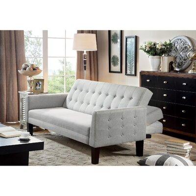Arianna Sofa Bed Sleeper Upholstery: Gray