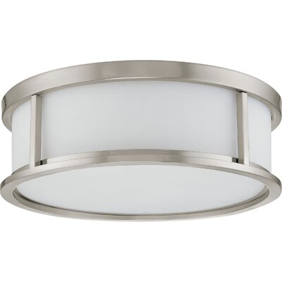 Floyd Flush Mount Size / Energy Star: 5.62 H x 17 W / Yes