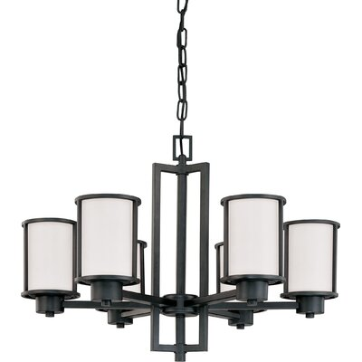 Floyd 6-Light Shaded Chandelier
