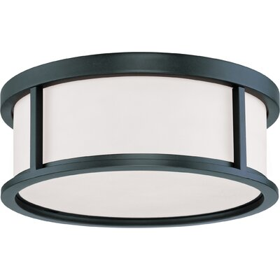 Floyd 3-Light Flush Mount Size: 5.63 H x 17 W