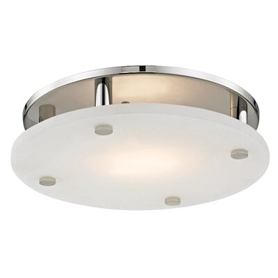 Owen 18-Light LED Flush Mount Finish: Polished Nickel