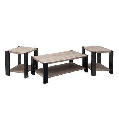 Simmons Casegoods Grady 3 Piece Coffee Table Set