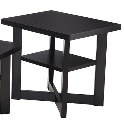 Simmons Casegoods Daisy End Table Finish: Merlot