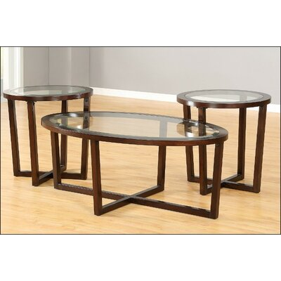Simmons Casegoods Heath 3 Piece Coffee Table Set