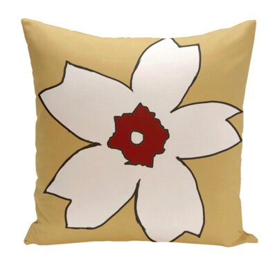 Hawkesbury Outdoor Throw Pillow Color: Emperor / Buddha, Size: 18 H x 18 W x 1 D