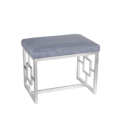 Candy Ottoman Upholstery: Light Gray