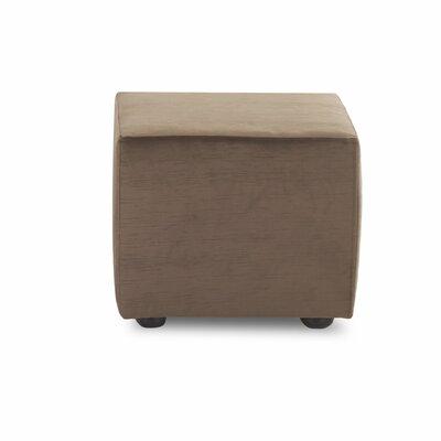 Cochran Cube Ottoman Upholstery: Empire Butternut